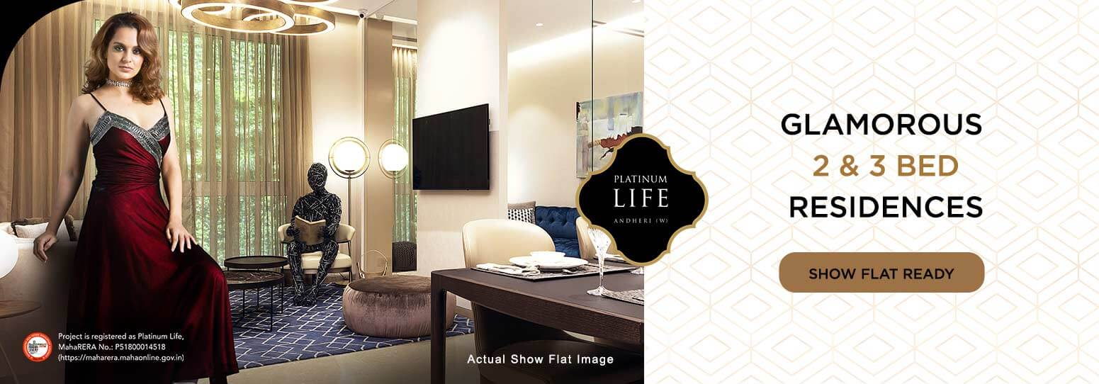 3 BHK Flats For Sale in Andheri West